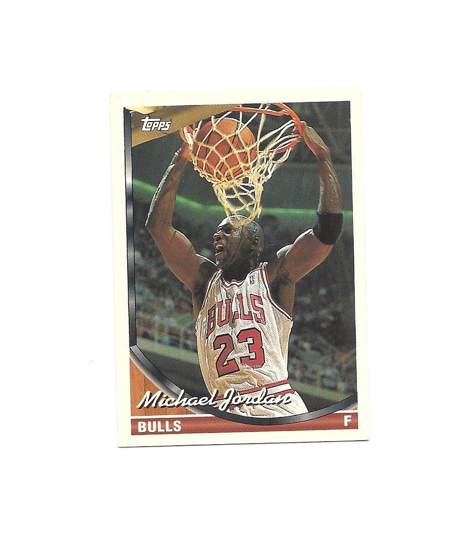 Michael Jordan 1993-94 Topps Card #23 Chicago Bulls