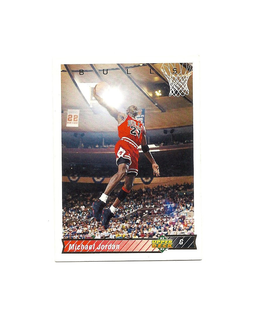 Michael Jordan 1992-93 Upper Deck Card #23 Chicago Bulls