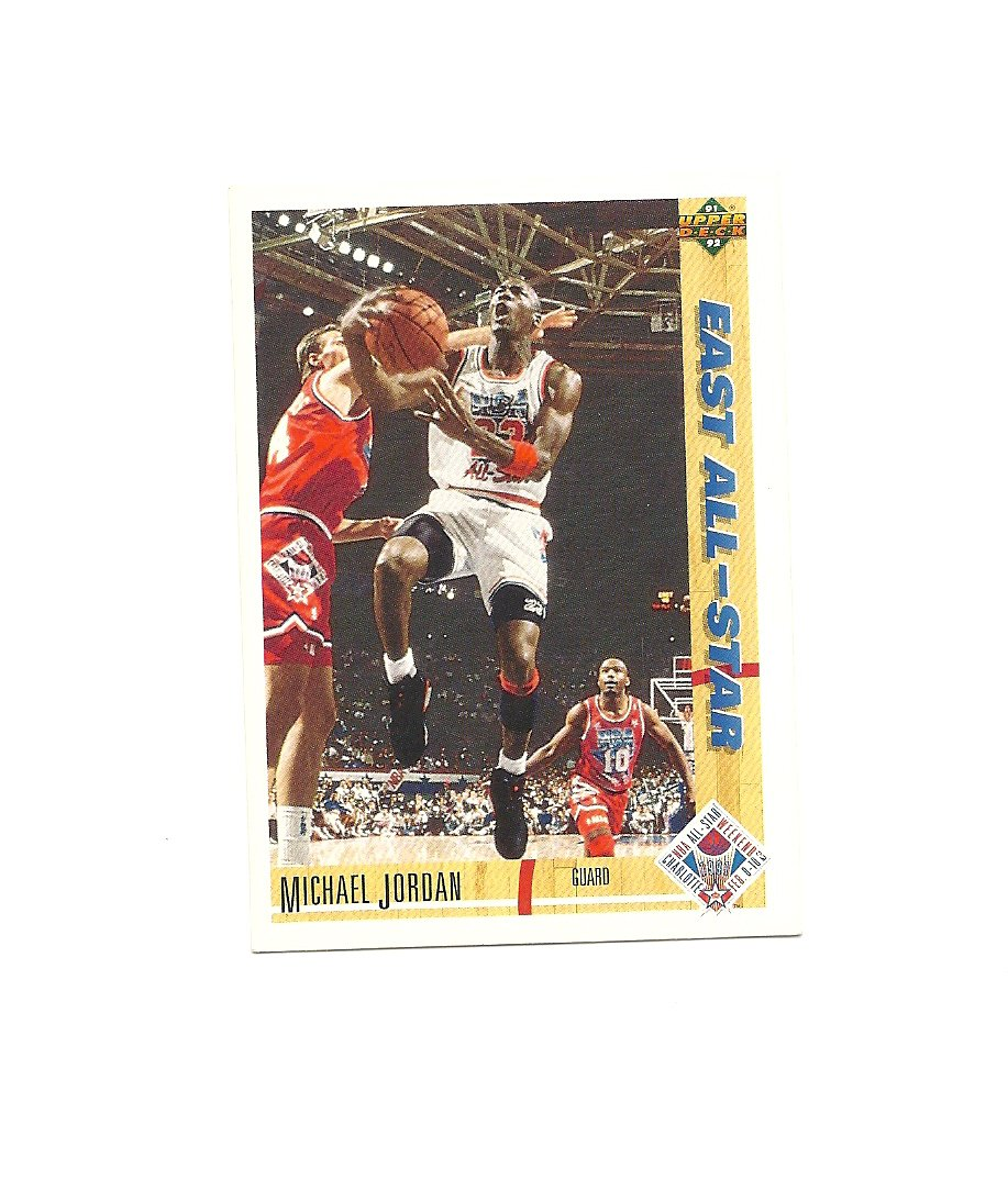 Michael Jordan 1991-92 Upper Deck All-Star Card #69 Chicago Bulls