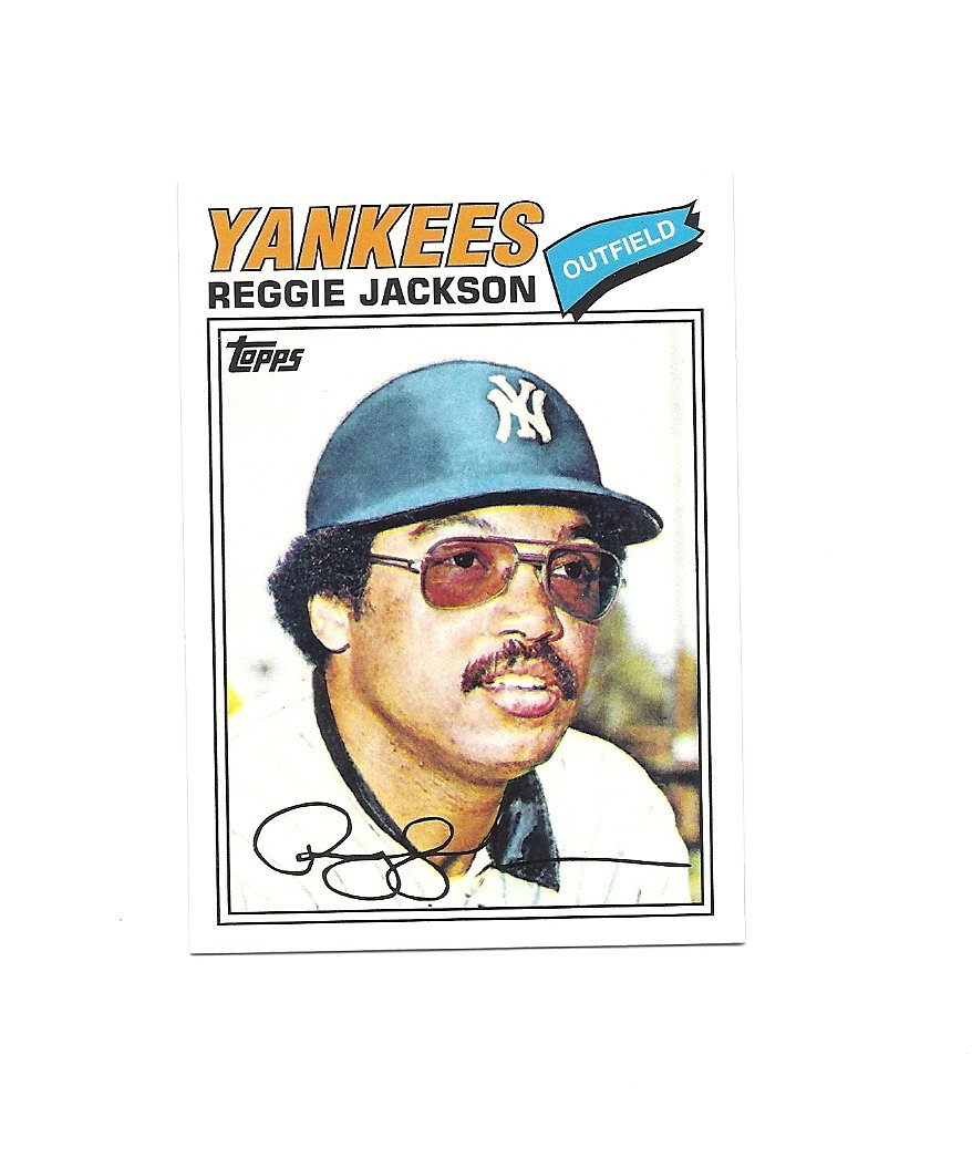 Reggie Jackson 2010 Topps Cards your Mom Threw Out #CMT-26 New York Yankees