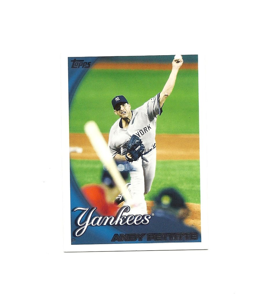 Andy Pettitte 2010 Topps Card #56 New York Yankees