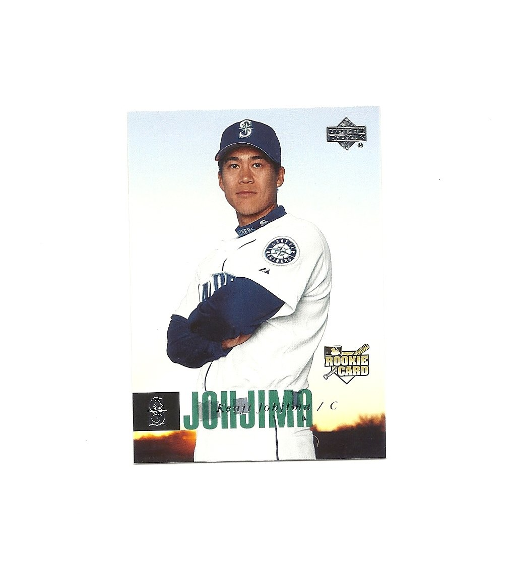 Kenji Johjima 2006 Upper Deck Rookie Card #954 Seattle Mariners