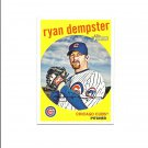 Ryan Dempster 2008 Topps Heritage Card #550 Chicago Cubs/Texas Rangers