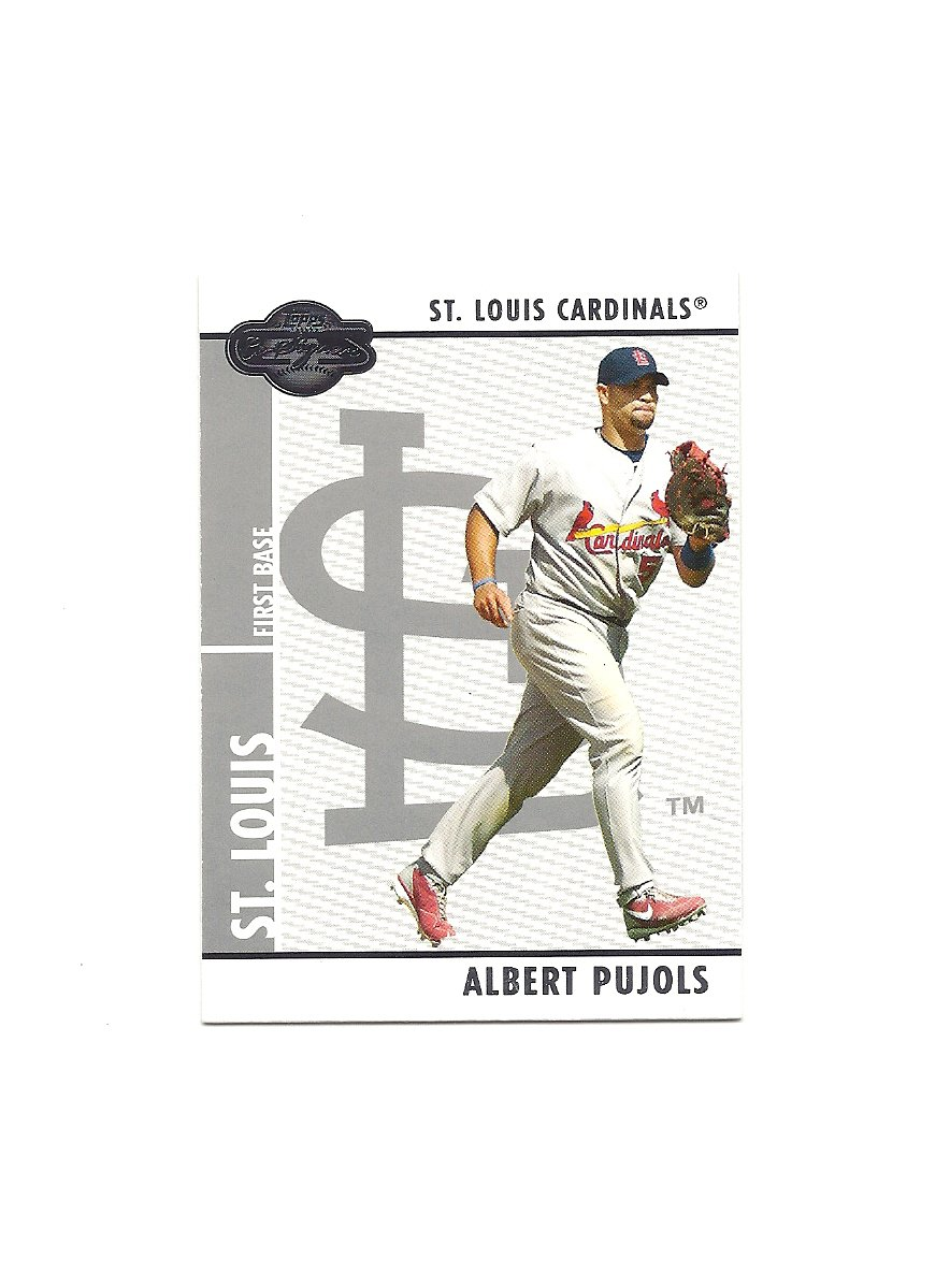 Albert Pujols 2008 Topps Co-Signers #70 St. Louis Cardinals/Los Angeles/Anaheim Angels