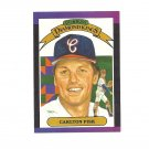 Carlton Fisk 1988 Donruss Diamond Kings #7 Boston Red Sox/Chicago White Sox