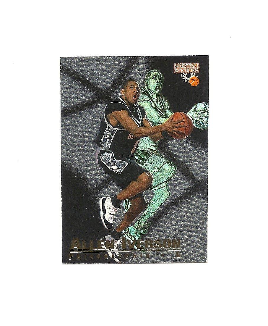 Allen Iverson 1996 Scoreboard Rookie #BR1 Philadelphia 76ers