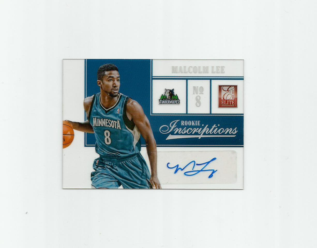 Malcolm Lee 2012-13 Panini Elite Rookie Inscriptions #8 Minnesota Timberwolves/Washington Wizards