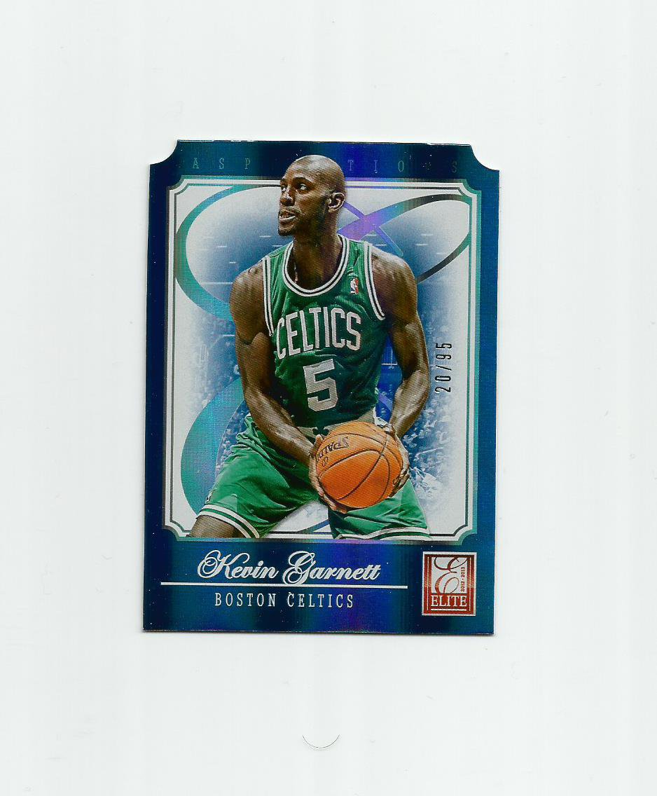 Kevin Garnett 2012-13 Panini Elite Aspirations #102 (20/95) Boston Celtics