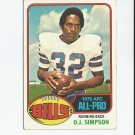 O.J. Simpson 1976 Topps All-Pro #300 Buffalo Bills