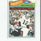 Ken Stabler 1977 Topps All-Pro #110 Oakland Raiders