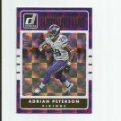 Adrian Peterson 2016 Donruss Dominator #12 (714/999) Minnesota Vikings