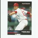Aaron Nola 2016 Topps Marketside Rookie #33 Philadelphia Phillies