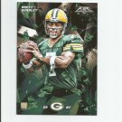 Brett Hundley 2015 Topps Fire Rookie #6 Green Bay Packers