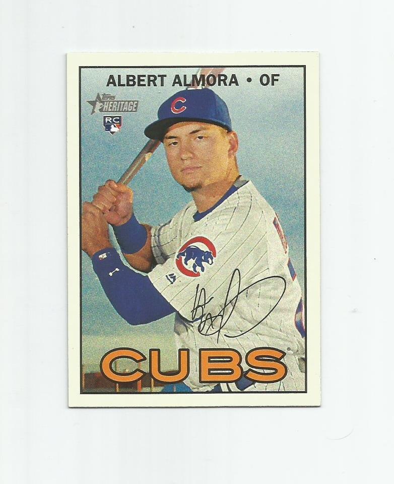 Albert Almora 2016 Topps Heritage Rookie #635 Chicago Cubs