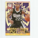 Isaiah Thomas 2013-14 Panini Elite Franchise Future Gold 8 #8 (20/24) Sacramento Kings