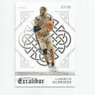 LaMarcus Aldridge 2015-16 Panini Excalibur Silver #127 (57/70) San Antonio Spurs