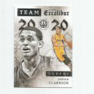 Jordan Clarkson 2015-16 Panini Excalibur Team 20/20 Silver Insert #17 (05/70) Los Angeles Lakers