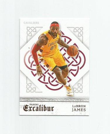 Lebron James 2015-16 Panini Excalibur #51 Cleveland Cavaliers