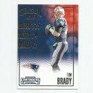 Tom Brady 2016 Panini Contenders Season Ticket #58 New England Patriots