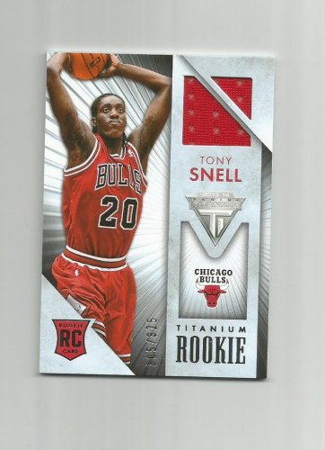 Tony Snell 2013-14 Panini Titanium Rookie Patch #37 (305/325) Chicago Bulls