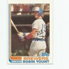 Robin Yount 1982 Topps #435 Milwaukee Brewers