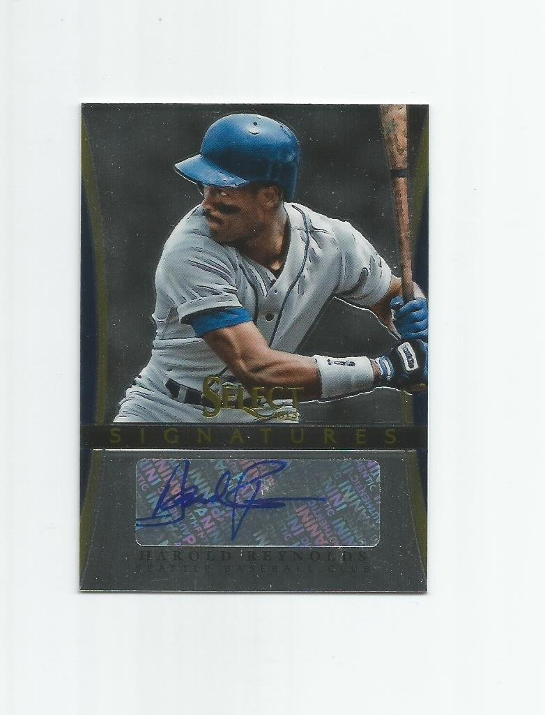 Harold Reynolds 2013 Panini Select Signatures Autograph #HR Seattle Mariners