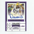 Davon Godchaux 2017 Panini Contenders Draft Picks Rookie Autograph #269 Miami Dolphins