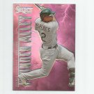 Yoenis Cespedes 2013 Panini Select Thunder Alley Prizm Refractor #TA21 Oakland Athletics