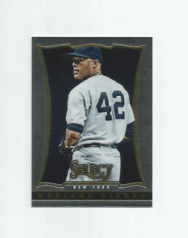 Mariano Rivera 2013 Panini Select #72 New York Yankees