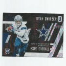 Ryan Switzer 2017 Panini Unparalleled Rookie #217 Dallas Cowboys