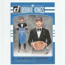 Domantas Sabonis 2016-17 Donruss Rookie Kings Insert #11 Oklahoma City Thunder