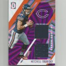 Mitchell Trubisky 2017 Panini Unparalleled Purple Wedges Patch Rookie #STMT (42/99) Chicago Bears