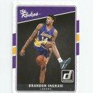 Brandon Ingram 2016-17 Donruss The Rookies Rookie #1 Los Angeles Lakers