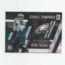 Donnel Pumphrey 2017 Panini Unparalleled Rookie #206 Philadelphia Eagles