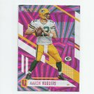 Aaron Rodgers 2017 Panini Unparalleled Pink Wedges #121 Green Bay Packers