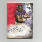 Javorius Allen 2015 Topps Inception Red Autographed Rookie #RA39 (40/75) Baltimore Ravens