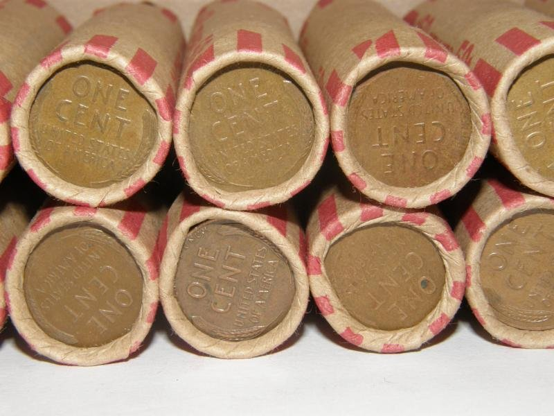 1952 P Wheat Penny Roll