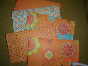 100 Handmade Shipping Envelopes
