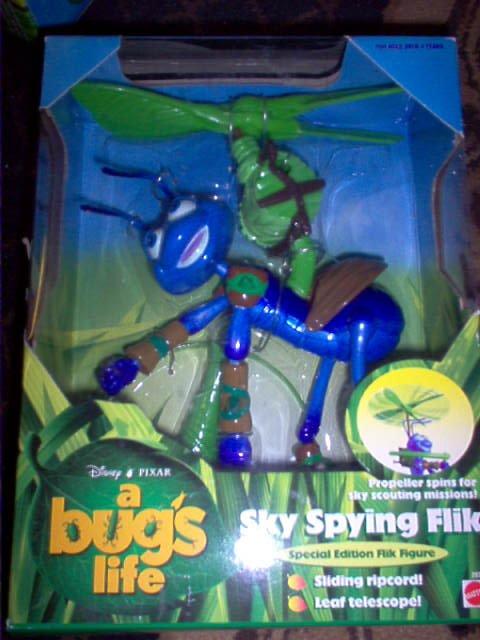 A Bugs Life - Disney Pixar - Sky Spying Flik Action Figure