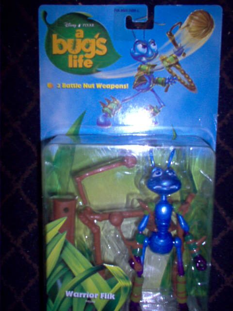 A Bugs Life - Disney Pixar - Warrior Flik Action Figure