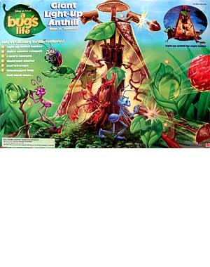 A Bugs Life - Disney Pixar - Giant Light-up Anthill Action Figure Playset