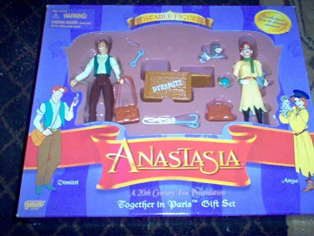 Anastasia Together in Paris Action Figure Gift Set
