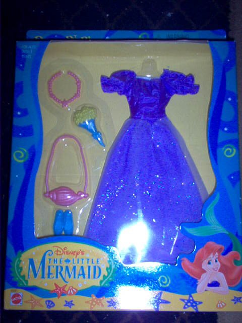 Little Mermaid Dress 'n Play Purple Fashion