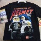 Lego City Boys T-Shirt Size 6/7 with Bonus