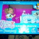 Heart Family Disneyland Kids on Parade Micky Train & Boy