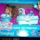 Heart Family Disneyland Kids on Parade Donald Boat & Girl