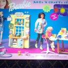 Barbie Arts & Crafts Studio Playset