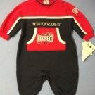 NBA Houston Rockets Sweatshirt Jumpsuit - size 6-9m
