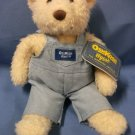 "OshKosh B'gosh Coverall Bear - Blue Boy 10"" Eden Toys"