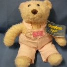 "OshKosh B'gosh Coverall Bear - Pink Girl 10"" Eden Toys"